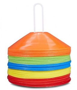 soccer training markers
