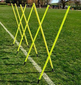 soccer slalom poles
