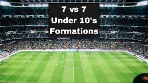 9 vs 9 Under 12 Formations 1