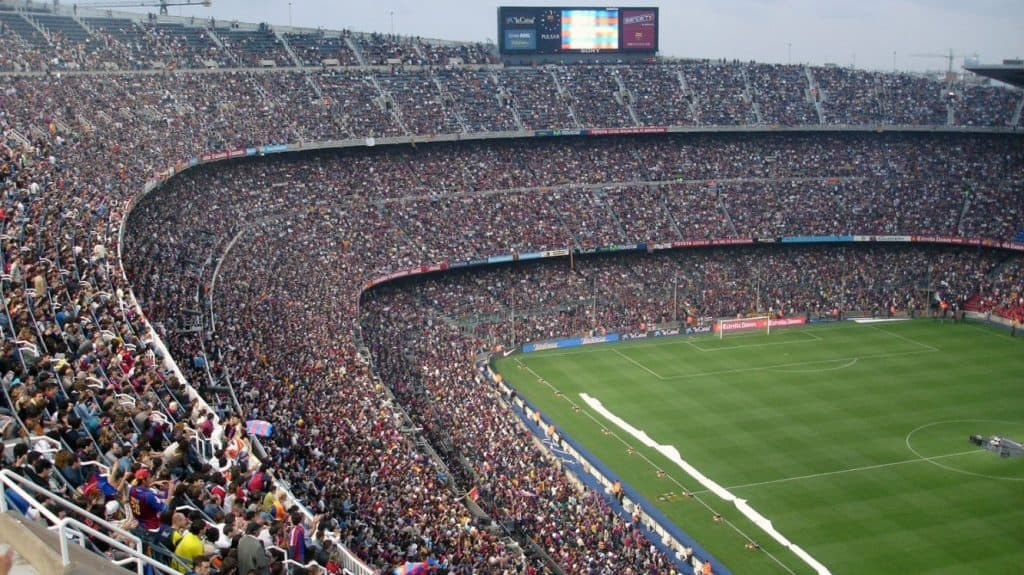 Popular soccer stadium many fans (interesting and fun facts about soccer)