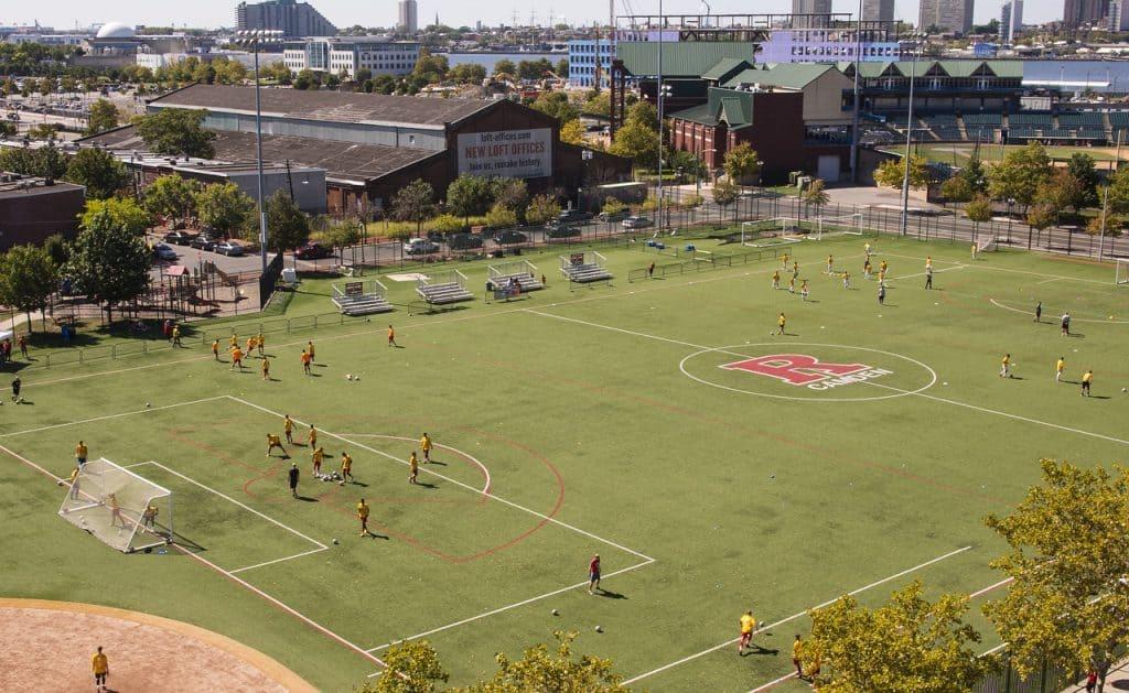 Soccer pitch coaching