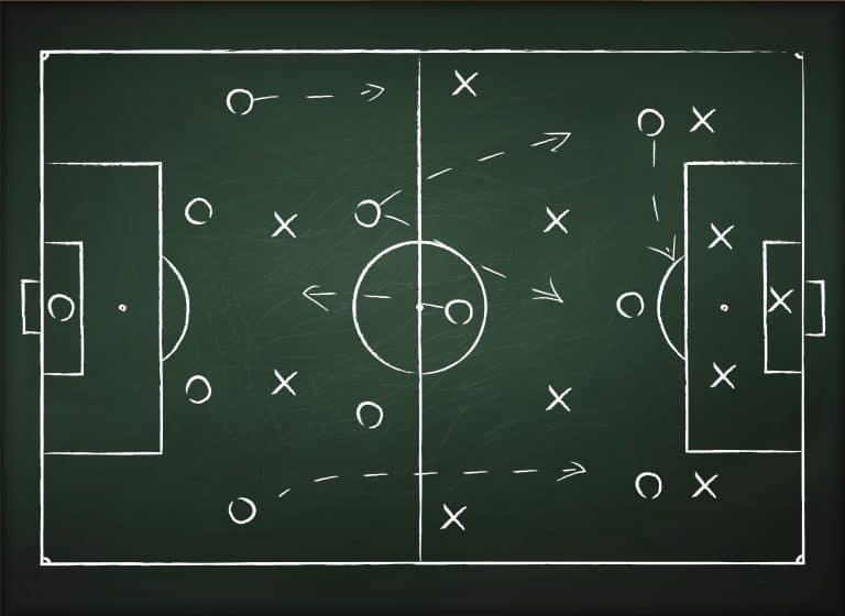 Soccer play tactics strategy