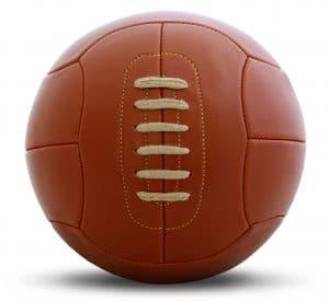Vintage football ball