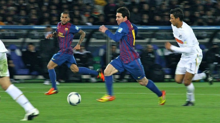 Lionel Messi Player of the Year 2011 running