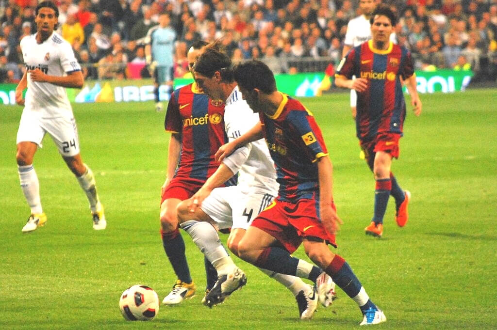 Ramos - El Classico. Real Madrid vs. Barcelona
