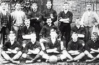 First Olympic soccer team Great Britain at Upton Park - Is soccer an olympic sport?