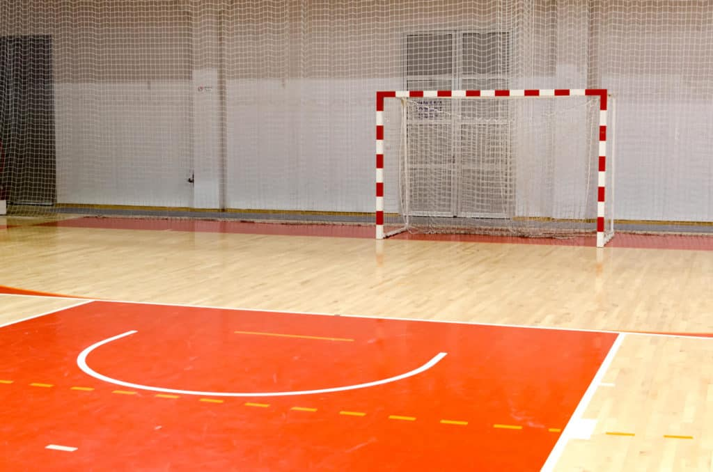 Indoor Soccer Court and Goal - Futsal