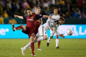 Major League Soccer Game - David Beckham Competing For MLS Galaxy