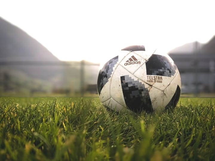 ○ Soccer Blade: Soccer Articles about Skills, Drills, Rules, and Life. ○ Soccer ball on a field
