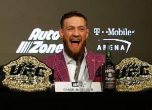 Conor McGregor. One of the UFCs biggest stars