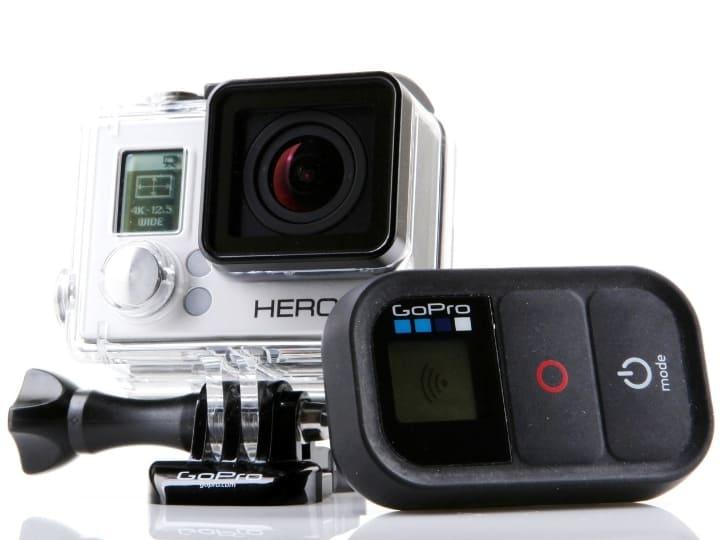 GoPro Hero Camera and Case